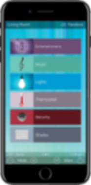 Urc Total control mobile app