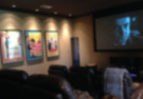 Dedicated Home Theater and Motorized Stewart Filmscreen