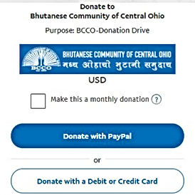 Bhutanese Community donate 1.png