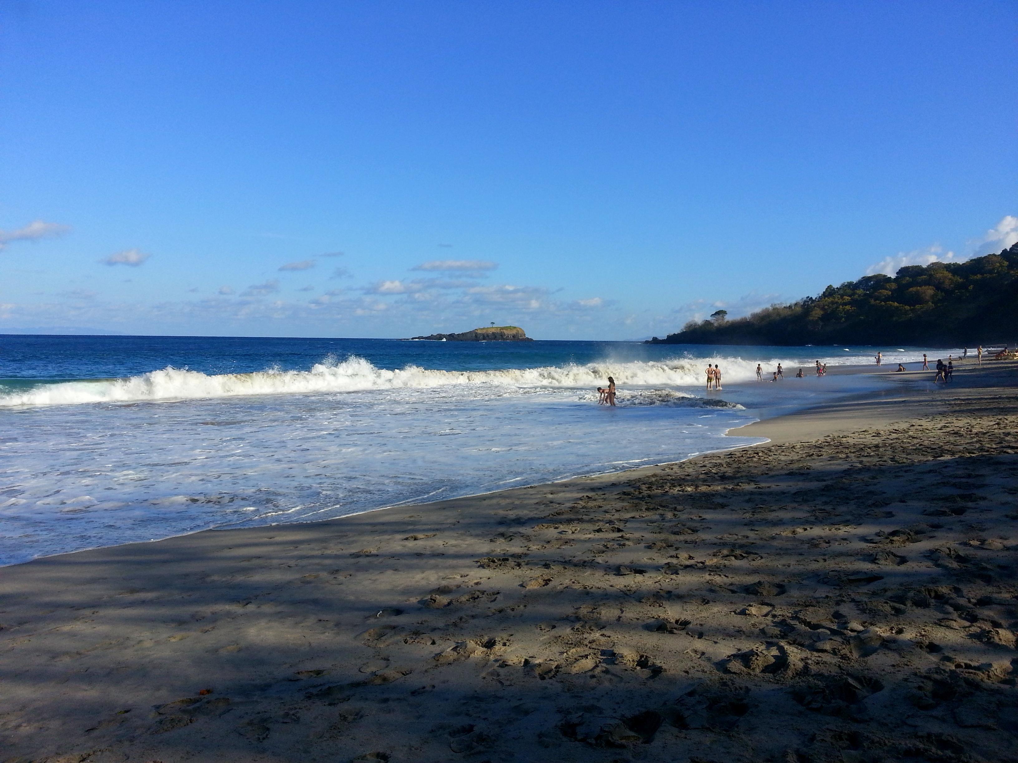 White sand beach, Karangasem