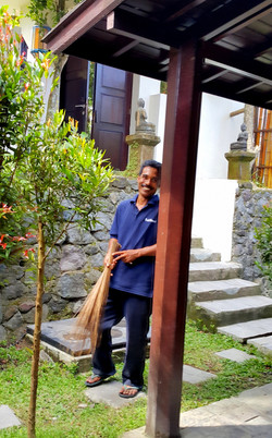 Pak Made - security & gardener