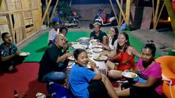 Balinese Dinner with Bongkasa family