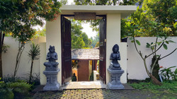 Entrance to main house