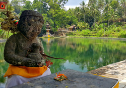 Village temple near Bongkasa
