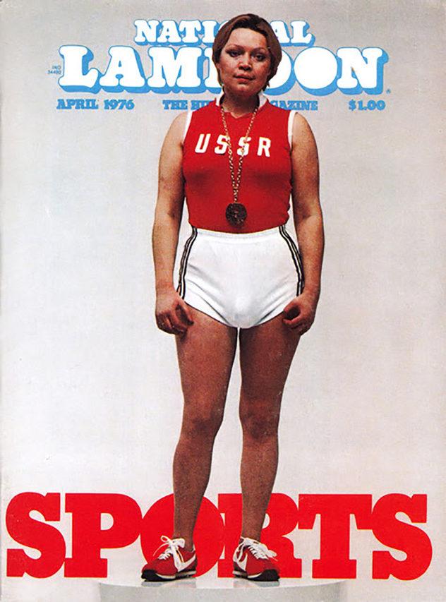 Russian Female Olympian