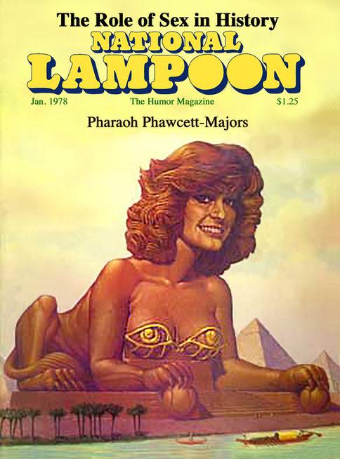 Pharaoh Fawcett Cover