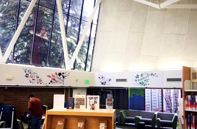 Public Library Wall Art
