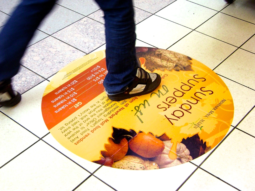 Promotional Floor Graphics
