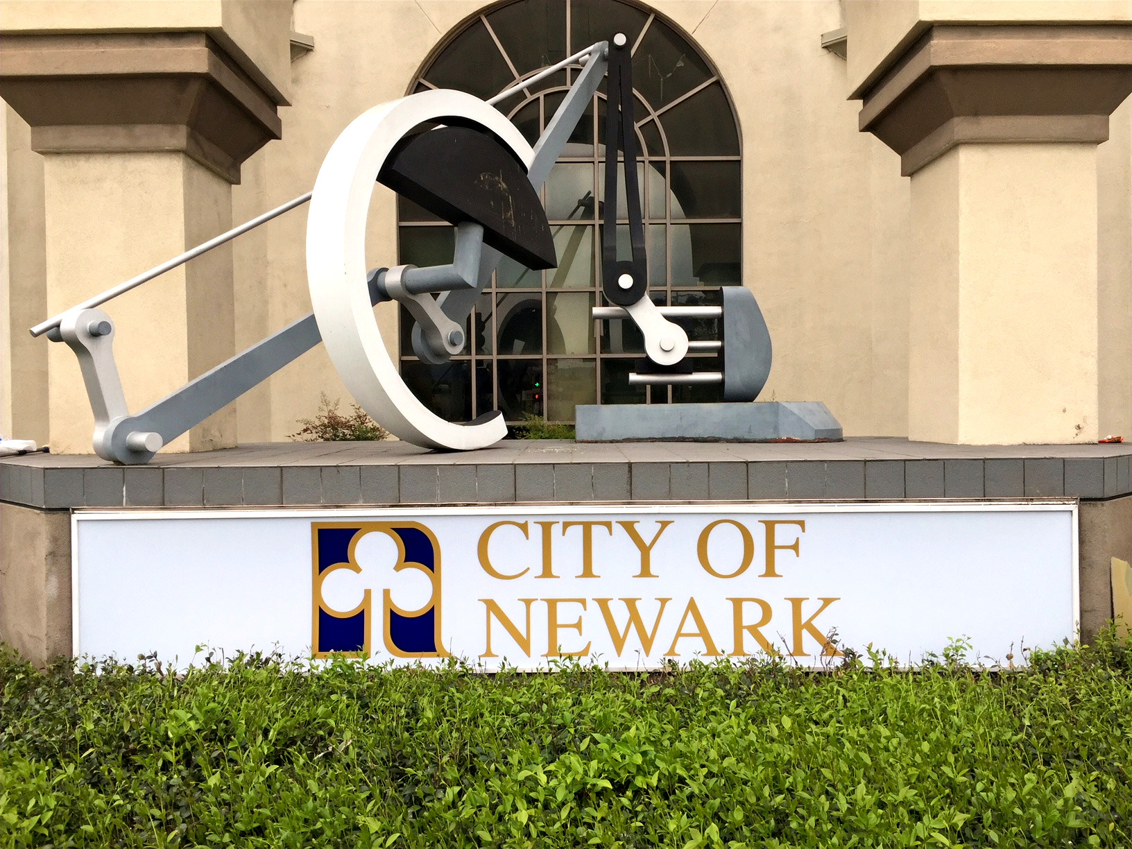 City of Newark Backlit Sign