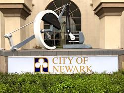 City of Newark Backlit Sign