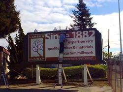 Billboard Print and Installation