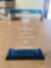 Engraved Clear Acrylic Award
