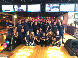 An Afternoon of Bowling and Team-building