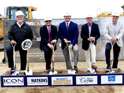 Sudberry Properties and Partners Break Ground On 170,000-Square-Foot Arena in El Corazon