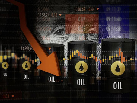 Lunes crudo: Precios del petróleo se desploman hasta 11%