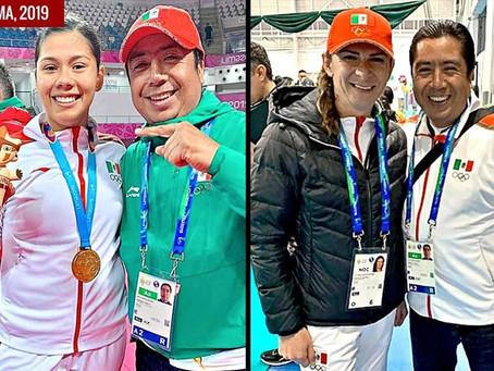 Lleva Ana Guevara equipo 'VIP' a Lima