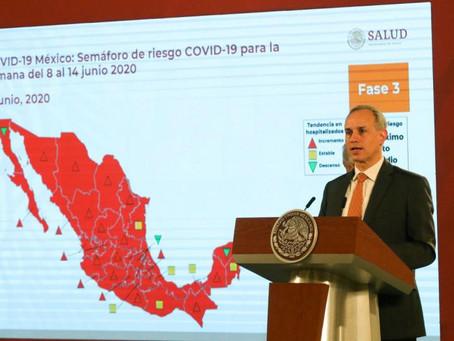 México está aún sin alcanzar el punto máximo de contagios COVID-19: López-Gatell