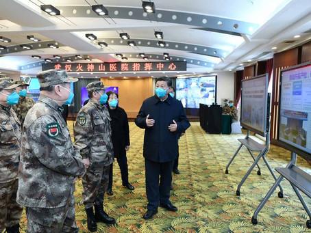 En Wuhan, presidente de China ve fin de epidemia