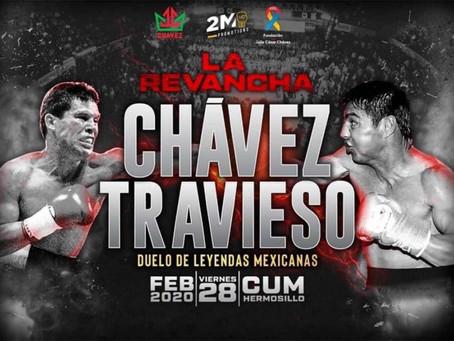 Habrá revancha entre JC Chávez y 'Travieso' Arce
