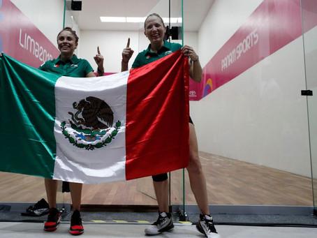 Paola Longoria y Samantha Salas conquistan el oro 25 para México