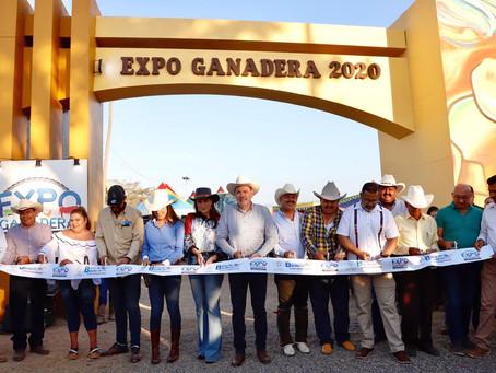 Arranca la Expo Ganadera 2020 en Bahía de Banderas