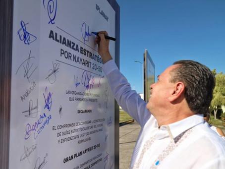 Una gran iniciativa el Gran Plan Nayarit 20-50: Jaime Cuevas