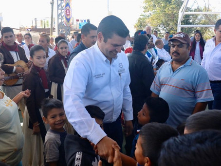 Con ayuda de AMLO Redoblaremos esfuerzos por Nayarit: Antonio Echevarría