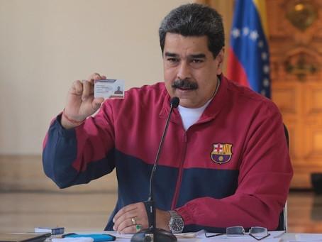 DE ÚLTIMA HORA        EEUU ofrece recompensa de 15 millones por Nicolás Maduro