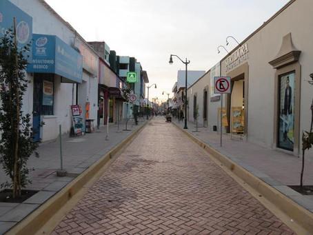 Inicia hoy reapertura de calles del Centro de Tepic