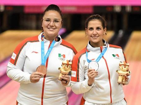 Boliche da plata y bronce para México