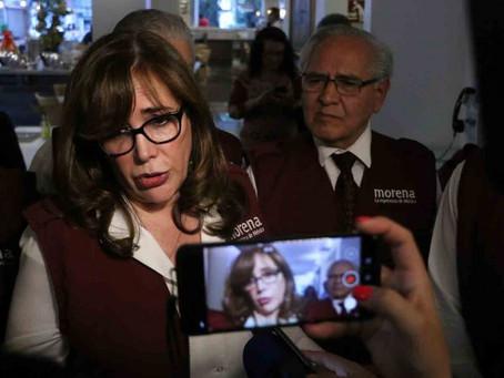 Morena presenta denuncia ante FGR contra Yeidckol