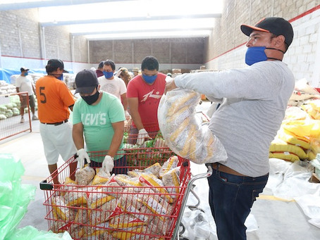Garantizadas 30 mil Despensas más en Apoyo a Familias: Dávalos