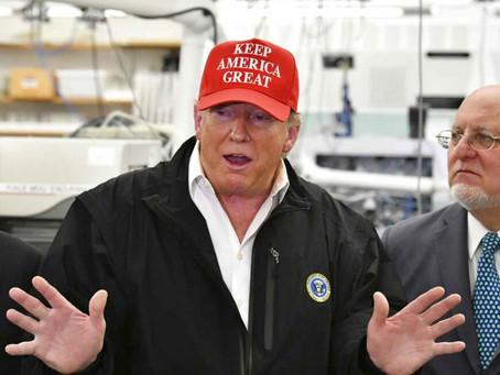 Trump no se hará prueba de coronavirus; dice sentirse bien