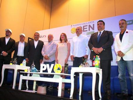 """Arranca promoción del Challenger ATP """"Puerto Vallarta Open"""""""