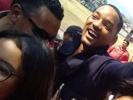 Will Smith anda en Yautepec y la gente enloqueció