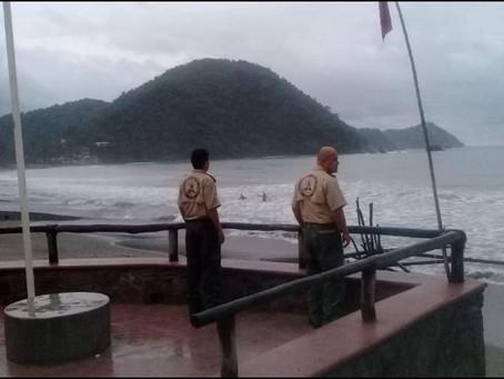 """Por """"Priscilla"""", evacuan a 85 personas en Cihuatlán, Tomatlán y Autlán"""