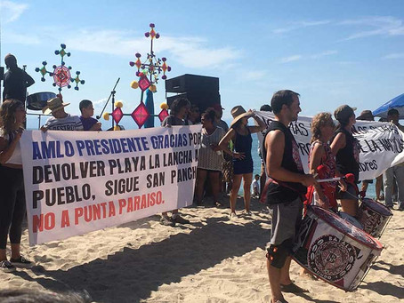 AMLO libera 30 playas nayaritas