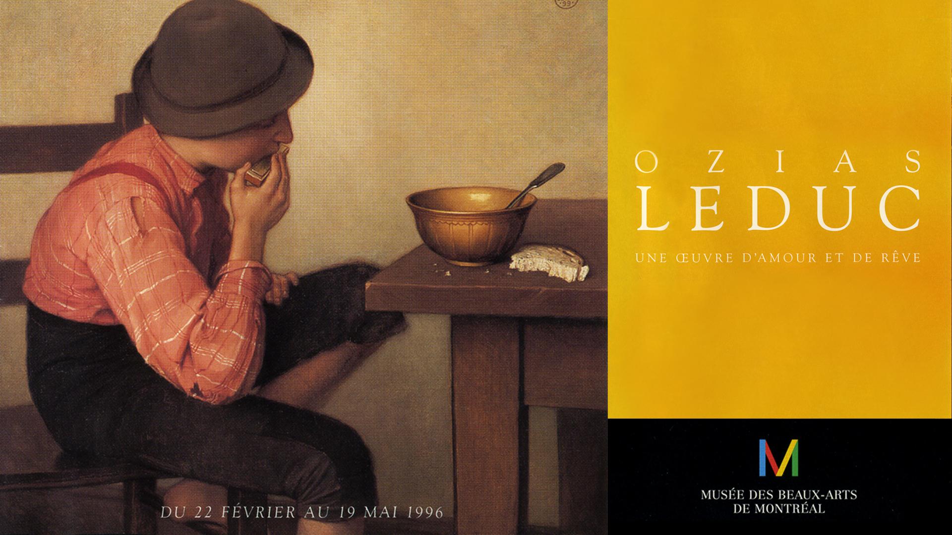 Rétrospective Ozias Leduc |MBA