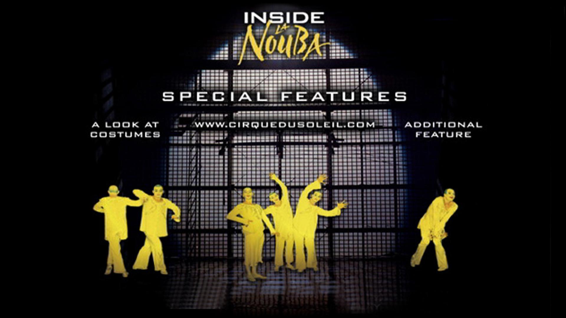 Inside la Nouba | DVD