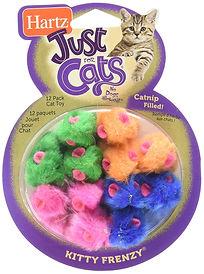 cat toy mice