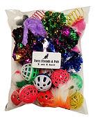 Kitten Toy bag balls with bells