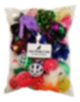 Kitten Toy bag balls with bells