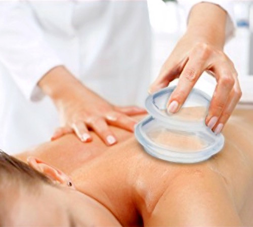 Increase circulation and improve healthy balanced blood flow. This specialized vacuum therapeutic treatment uses gentle silicone cups and suction pressures to lift adhered facial and muscle tissues apart to release stubborn tensions and increase balance in the body by safely inducing healthy circulation. Combined with deep pressure massage techniques for immediate stress relief, muscle relaxation and promotes healing.