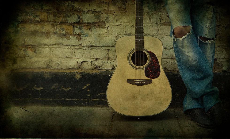 Retrato ahumado Guitarra