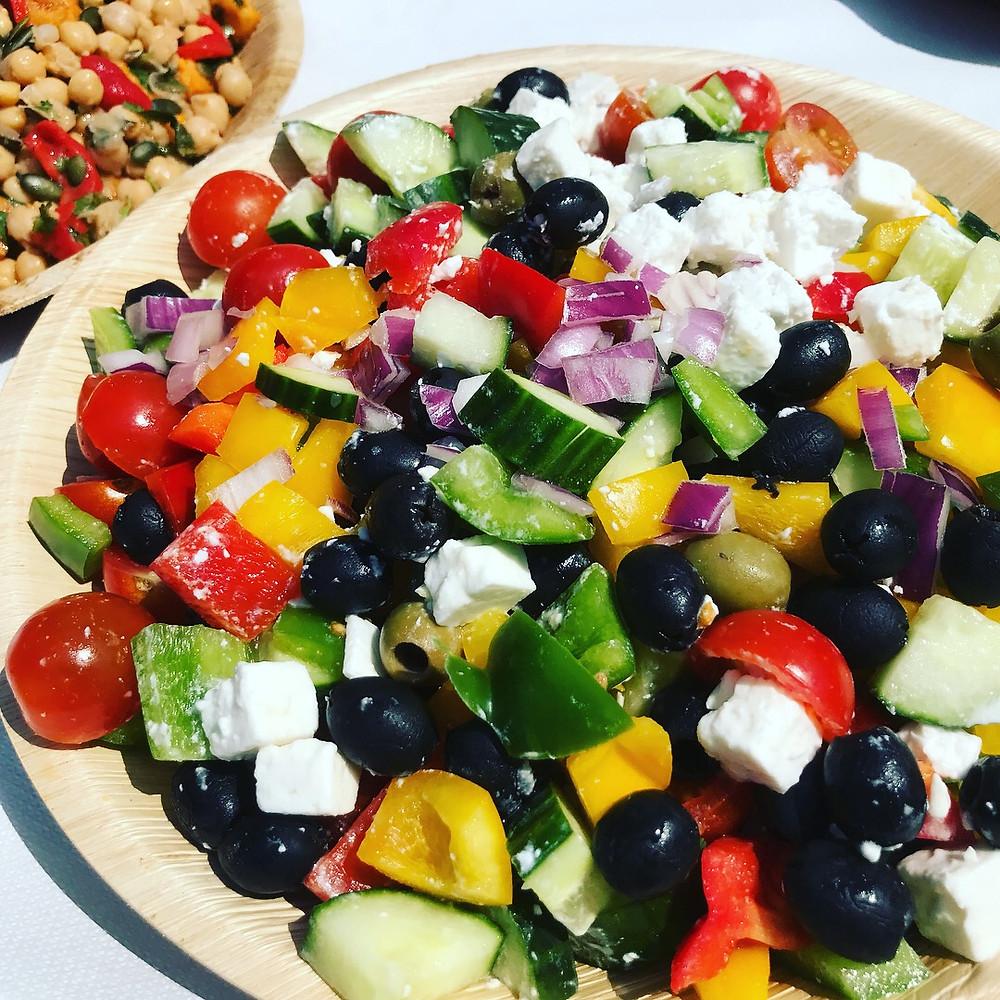 surrey BBQ caterer fresh local seasonal salads
