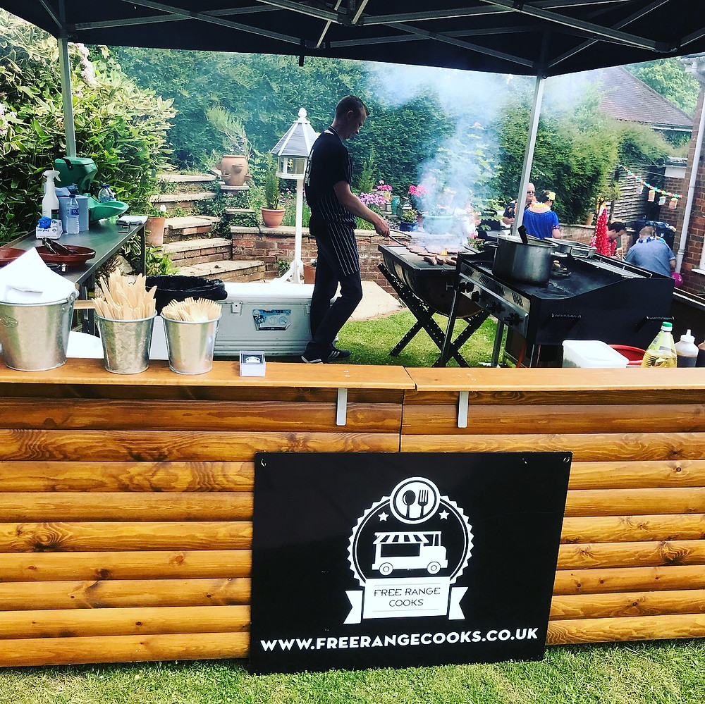 surrey birthday bbq catering hawaii five o theme