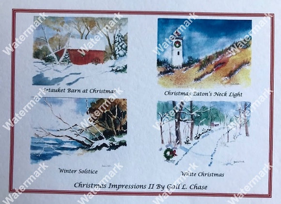 Christmas Impressions II Card Box