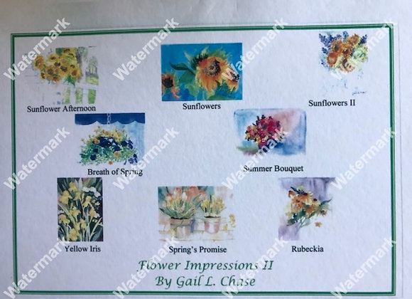 Flower Impressions II Card Boxes