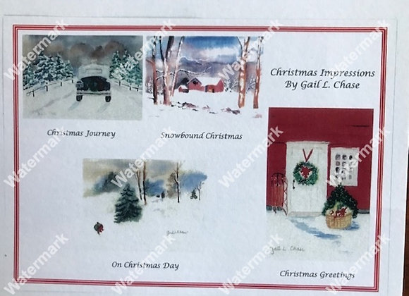 Christmas Impressions Card Box