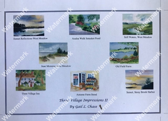 Three Village Impressions II Card Box